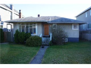 Photo 1: 708 W 63RD Avenue in Vancouver: Marpole House for sale (Vancouver West)  : MLS®# V1053909