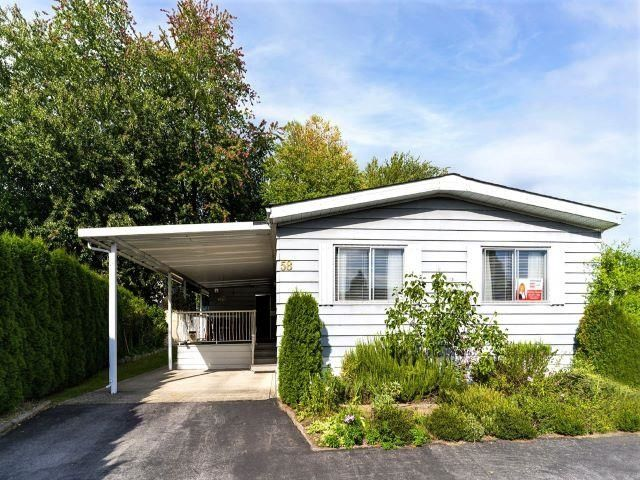 """Main Photo: 58 145 KING EDWARD Street in Coquitlam: Maillardville Manufactured Home for sale in """"MILL CREEK VILLAGE"""" : MLS®# R2612331"""