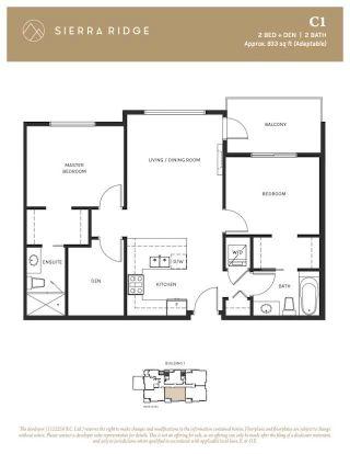 "Photo 2: 104 11718 224 Street in Maple Ridge: West Central Condo for sale in ""SIERRA RIDGE"" : MLS®# R2610932"