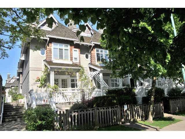 Main Photo: 8539 JELLICOE STREET in : South Marine Townhouse for sale (Vancouver East)  : MLS®# V873306