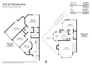 Photo 18: 332 ST. PATRICK'S Avenue in North Vancouver: Lower Lonsdale 1/2 Duplex for sale : MLS®# R2556186