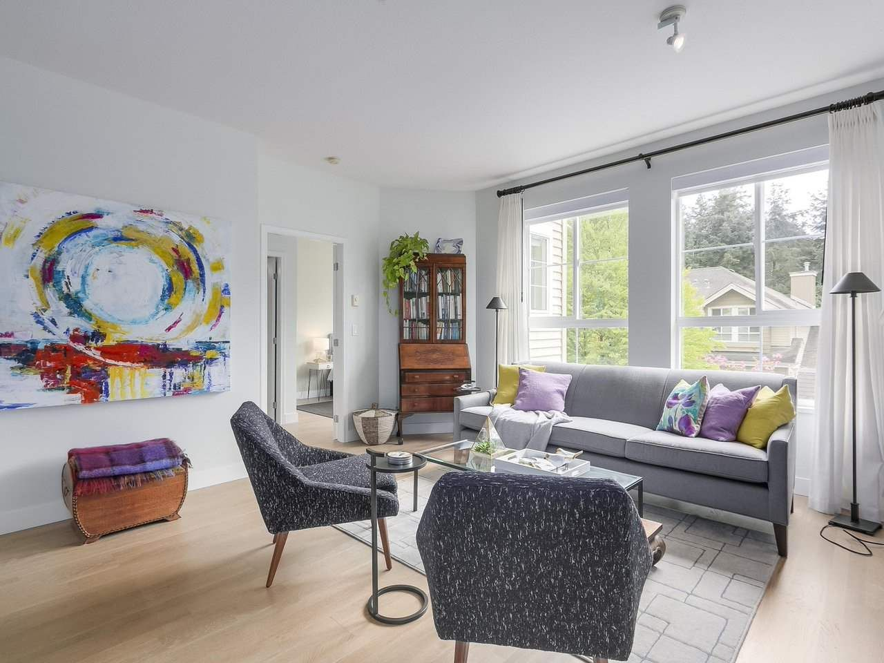 """Main Photo: 302 5605 HAMPTON Place in Vancouver: University VW Condo for sale in """"The Pemberley"""" (Vancouver West)  : MLS®# R2263786"""