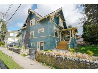 Photo 2: 609 FOURTH Avenue in New Westminster: Uptown NW House for sale : MLS®# V1054223