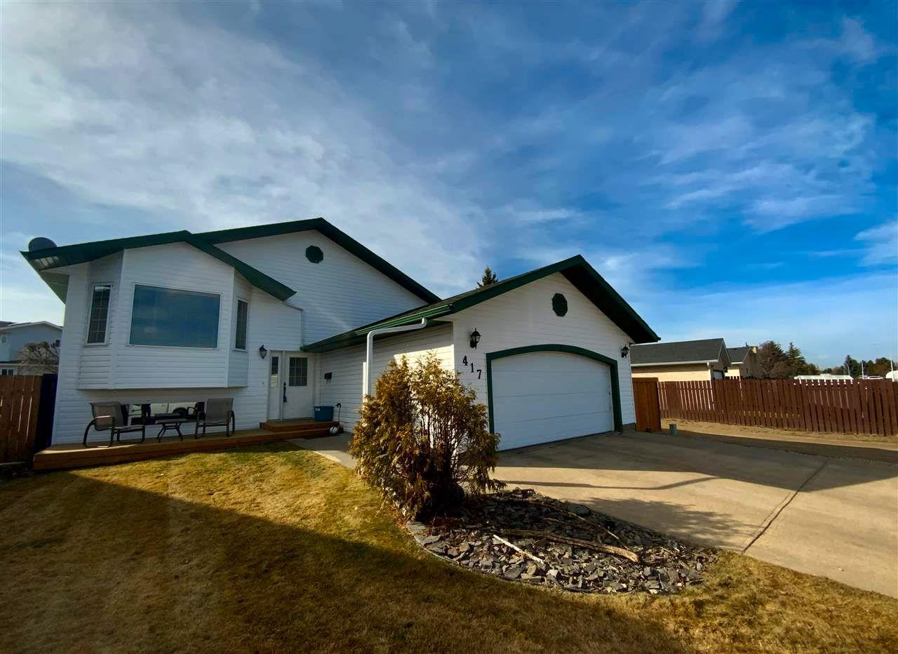 Main Photo: 417 Garden Meadows Drive: Wetaskiwin House for sale : MLS®# E4219194