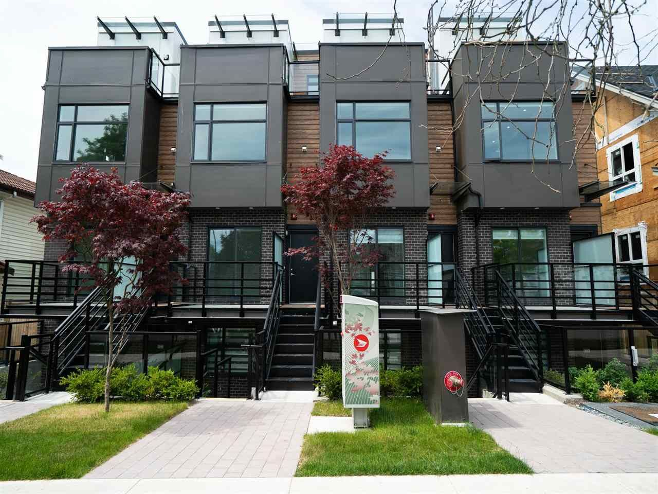 """Main Photo: 5033 CHAMBERS Street in Vancouver: Collingwood VE Townhouse for sale in """"8 On Chambers"""" (Vancouver East)  : MLS®# R2612581"""