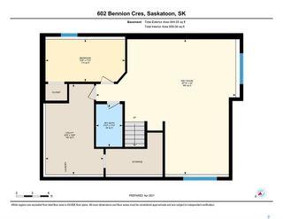 Photo 47: 602 Bennion Crescent in Saskatoon: Willowgrove Residential for sale : MLS®# SK849166
