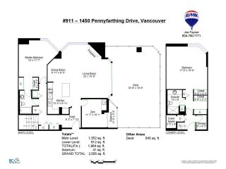 """Photo 17: 911 1450 PENNYFARTHING Drive in Vancouver: False Creek Condo for sale in """"HARBOUR COVE"""" (Vancouver West)  : MLS®# V1045664"""