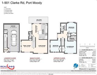 Photo 21: 1 901 CLARKE Road in Port Moody: College Park PM Townhouse for sale : MLS®# R2574555