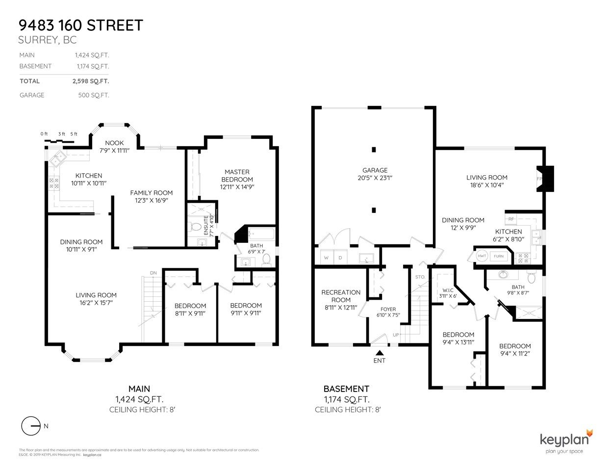 Main Photo: 9483 160 Street in Surrey: Fleetwood Tynehead House for sale : MLS®# R2358901