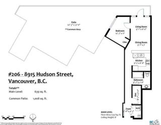 """Photo 4: 206 8915 HUDSON Street in Vancouver: Marpole Condo for sale in """"HUDSON MEWS"""" (Vancouver West)  : MLS®# R2605970"""