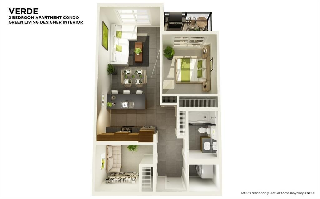 Photo 5: Photos: 210 19621 40 Street SE in Calgary: Seton Apartment for sale : MLS®# C4221908
