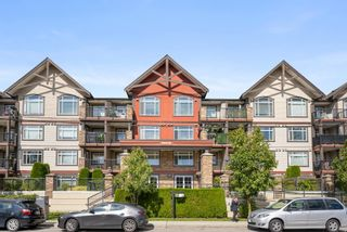 """Photo 1: 314 19939 55A Avenue in Langley: Langley City Condo for sale in """"MADISON CROSSING"""" : MLS®# R2616834"""