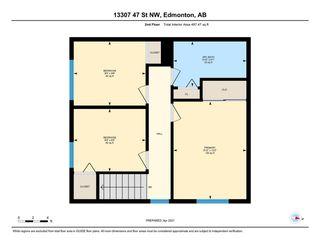 Photo 47: 13307 47 Street in Edmonton: Zone 35 Townhouse for sale : MLS®# E4238571