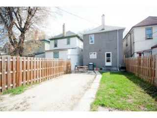 Photo 20: 554 Beverley Street in WINNIPEG: West End / Wolseley Residential for sale (West Winnipeg)  : MLS®# 1410900