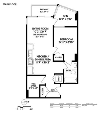 """Photo 27: 807 38 W 1ST Avenue in Vancouver: False Creek Condo for sale in """"THE ONE"""" (Vancouver West)  : MLS®# R2525858"""