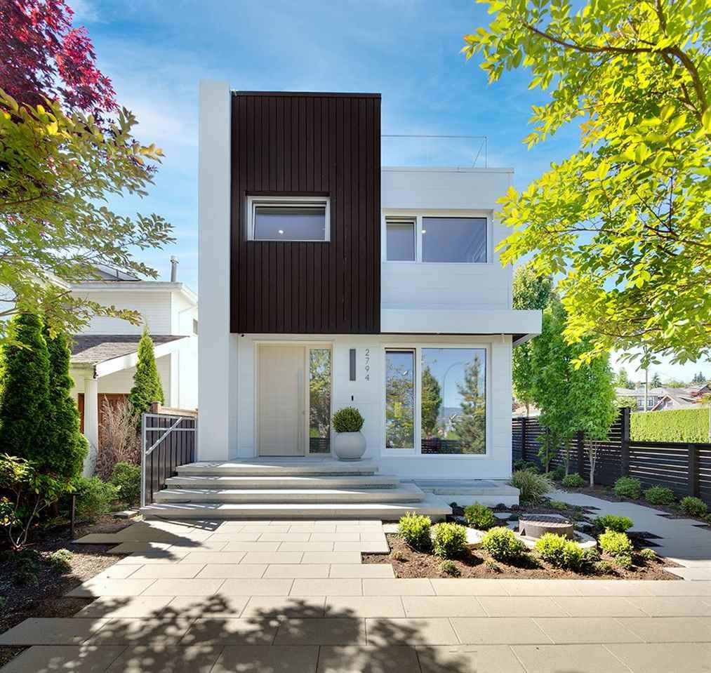 """Main Photo: 2794 W 23RD Avenue in Vancouver: Arbutus House for sale in """"W Passive House"""" (Vancouver West)  : MLS®# R2589508"""