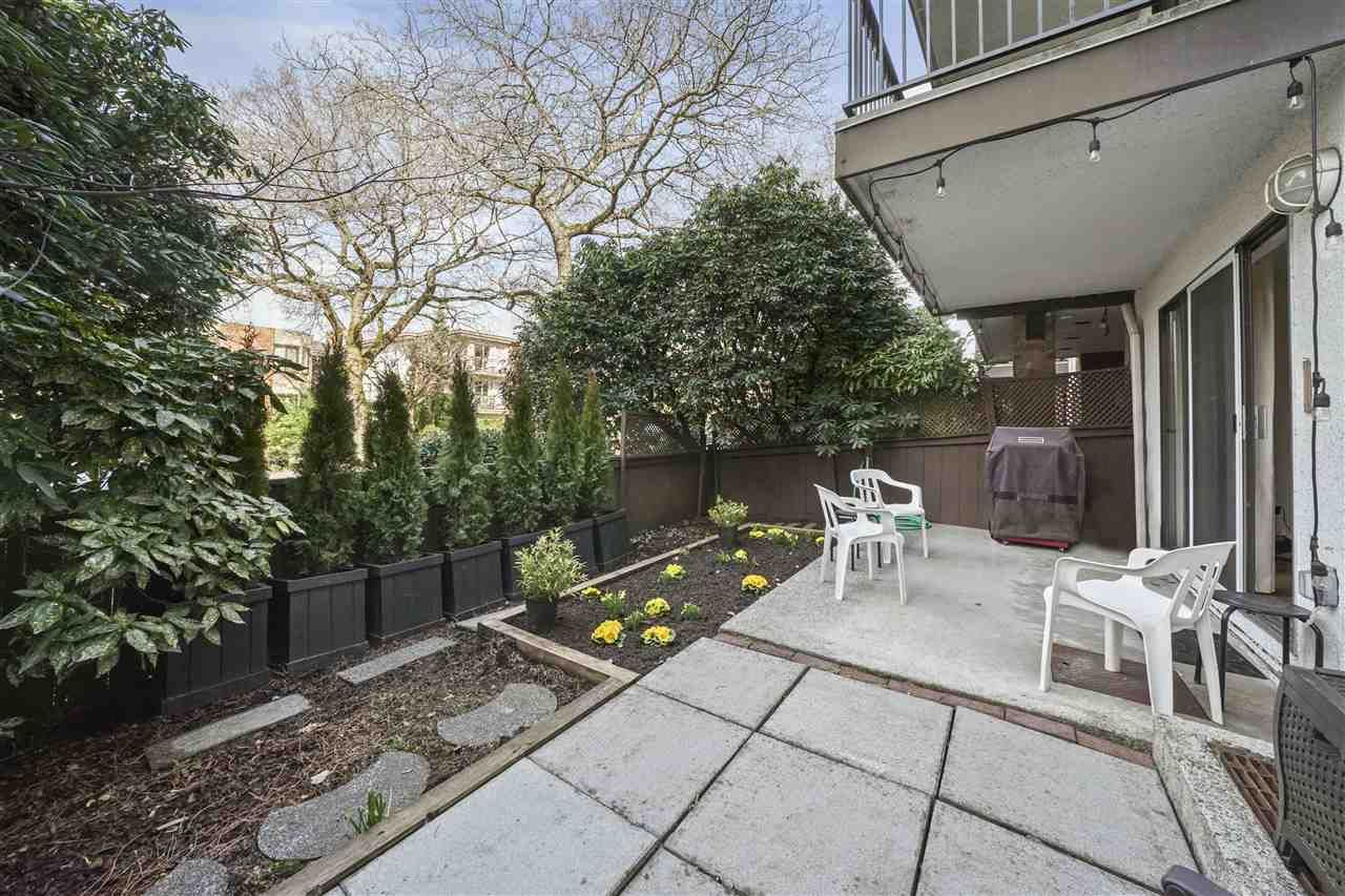 """Main Photo: 112 2320 TRINITY Street in Vancouver: Hastings Condo for sale in """"TRINITY MANOR"""" (Vancouver East)  : MLS®# R2551462"""