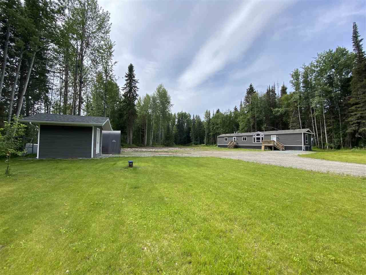 Main Photo: 4905 BETHAM Road in Prince George: North Kelly Manufactured Home for sale (PG City North (Zone 73))  : MLS®# R2470188