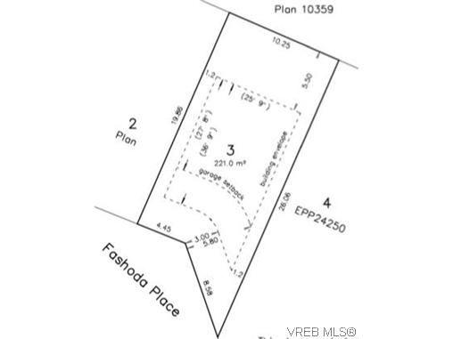 Main Photo: Lot 3 Fashoda Pl in VICTORIA: La Happy Valley Land for sale (Langford)  : MLS®# 626214