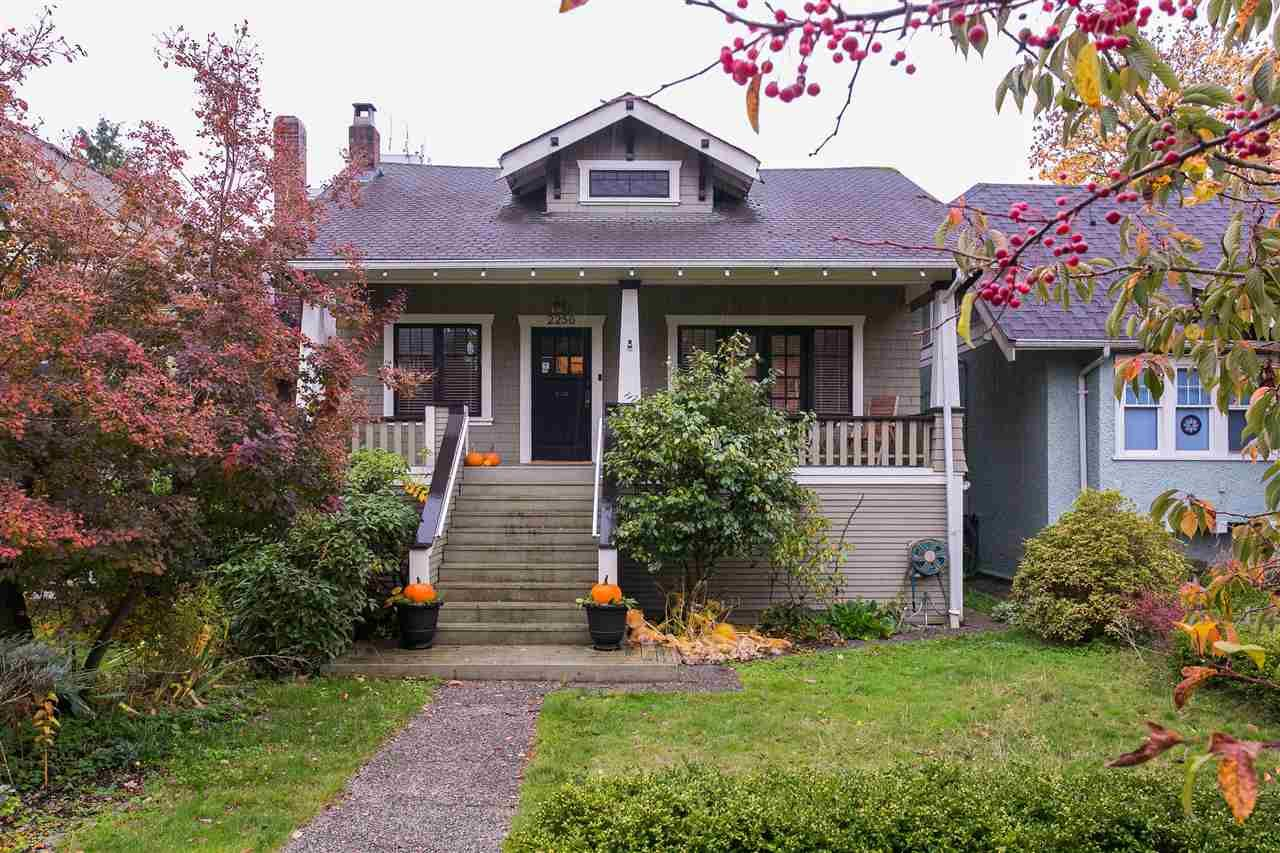 Main Photo: 2256 W 37TH AVENUE in Vancouver: Kerrisdale House for sale (Vancouver West)  : MLS®# R2118837
