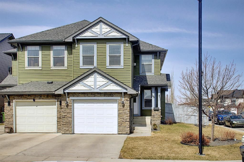 Main Photo: 143 Canals Circle SW: Airdrie Semi Detached for sale : MLS®# A1089969