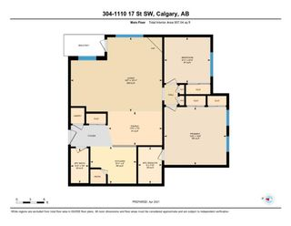Photo 34: 304 1110 17 Street SW in Calgary: Sunalta Apartment for sale : MLS®# A1141399
