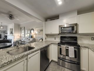 """Photo 9: 104 1990 E KENT AVENUE SOUTH in Vancouver: South Marine Condo for sale in """"Harbour House at Tugboat Landing"""" (Vancouver East)  : MLS®# R2607315"""