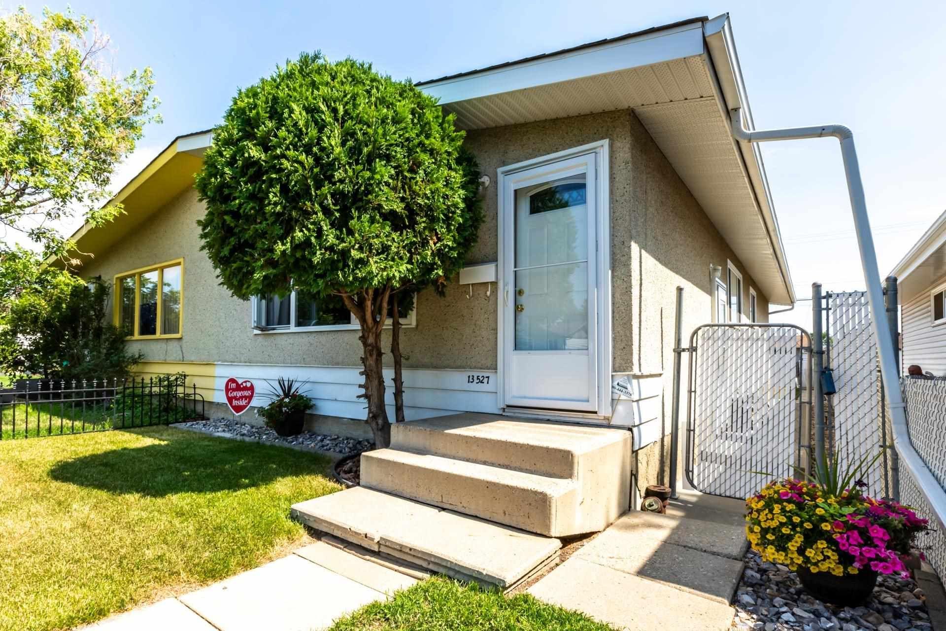 Main Photo: 13527 119 Street in Edmonton: Zone 01 House Half Duplex for sale : MLS®# E4257040