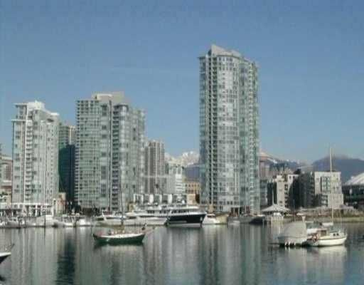 """Main Photo: 803 1067 MARINASIDE CR in Vancouver: False Creek North Condo for sale in """"QUAY WEST TOWER 2"""" (Vancouver West)  : MLS®# V572568"""