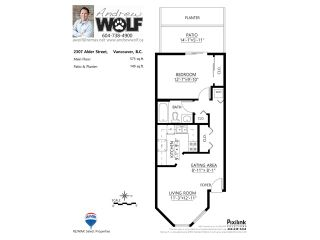 """Photo 17: 2307 ALDER Street in Vancouver: Fairview VW Townhouse for sale in """"ALDERWOOD PLACE"""" (Vancouver West)  : MLS®# V1124045"""