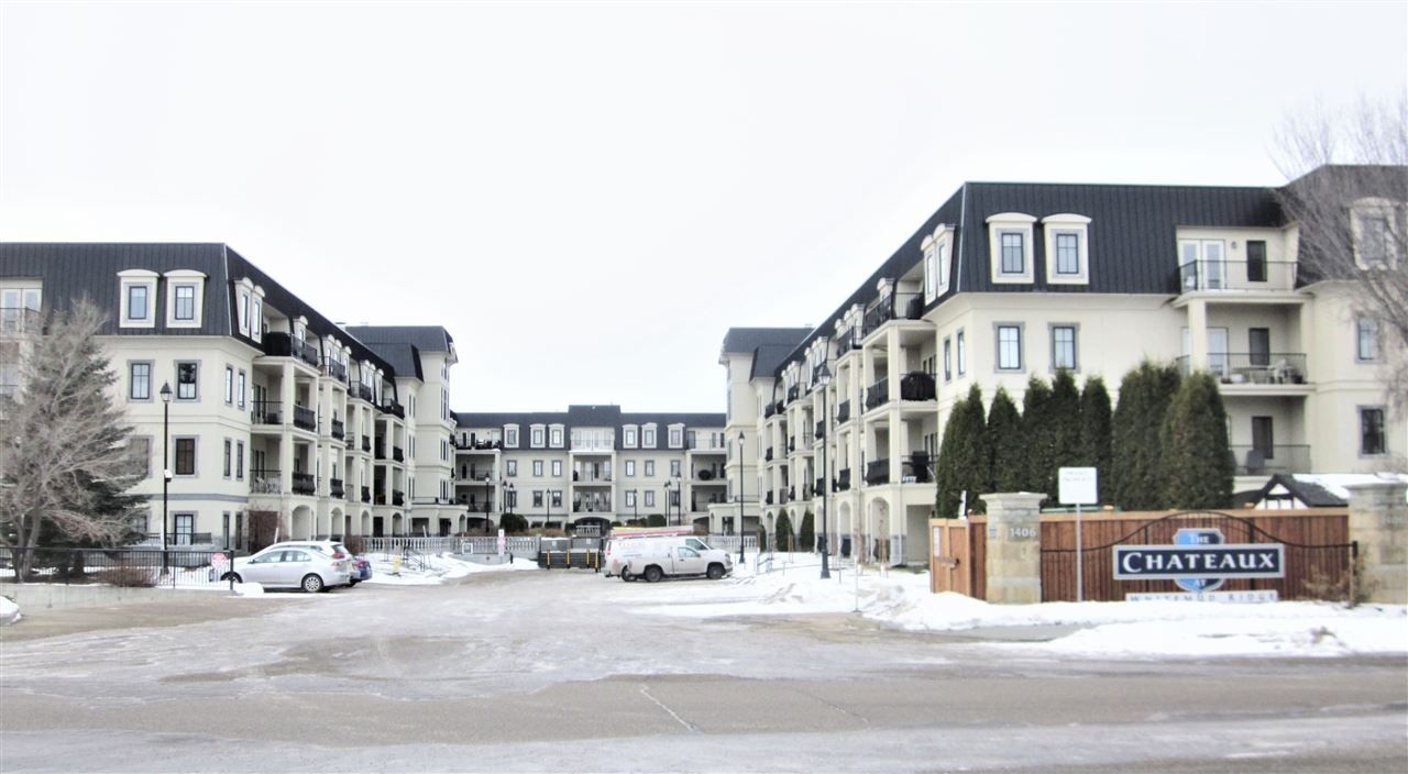 Main Photo: 410 1406 HODGSON Way in Edmonton: Zone 14 Condo for sale : MLS®# E4223592