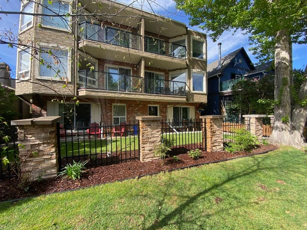 Main Photo: 102 534 22 Avenue SW in Calgary: Cliff Bungalow Apartment for sale : MLS®# A1137660