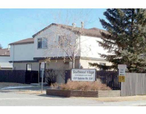 Main Photo:  in : Southwood Townhouse for sale (Calgary)  : MLS®# C2155554