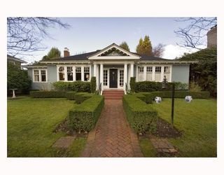 Photo 1: 1629 W 29TH Avenue in Vancouver: Shaughnessy House for sale (Vancouver West)  : MLS®# V696694