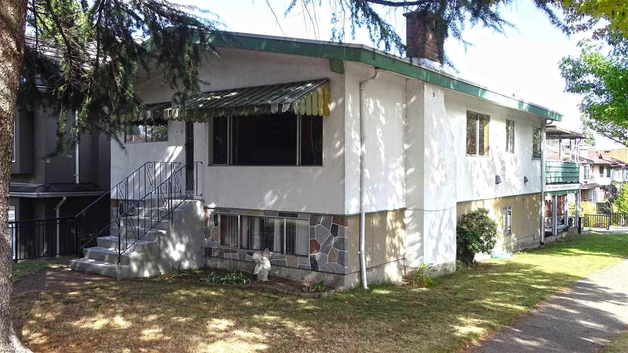Main Photo: 4494 ST. GEORGE Street in Vancouver: Fraser VE House for sale (Vancouver East)  : MLS®# R2500905