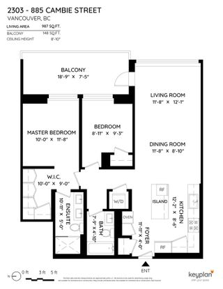 """Photo 27: 2303 885 CAMBIE Street in Vancouver: Cambie Condo for sale in """"The Smithe"""" (Vancouver West)  : MLS®# R2590504"""