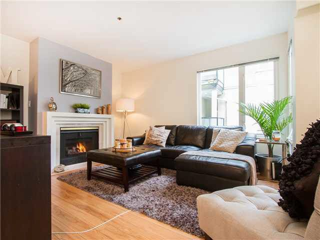 Main Photo: 203 1554 BURNABY STREET in : West End VW Residential Attached for sale : MLS®# V1104674