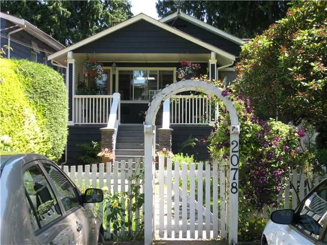 Main Photo: 2078 W KEITH RD in North Vancouver: Pemberton Heights House for sale : MLS®# V1073488