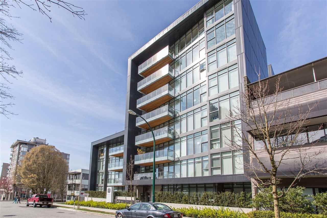 """Main Photo: 203 1555 W 8TH Avenue in Vancouver: Fairview VW Condo for sale in """"1555 WEST EIGHTH"""" (Vancouver West)  : MLS®# R2496027"""