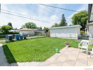 Photo 13: 586 Oakland Avenue in WINNIPEG: North Kildonan Residential for sale (North East Winnipeg)  : MLS®# 1517789
