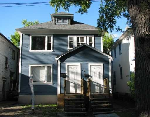 Main Photo: 393 ALFRED Avenue in WINNIPEG: North End Residential for sale (North West Winnipeg)  : MLS®# 2820447