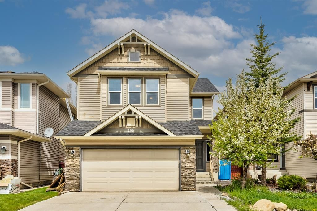 Main Photo: 303 Chapalina Terrace SE in Calgary: Chaparral Detached for sale : MLS®# A1113297