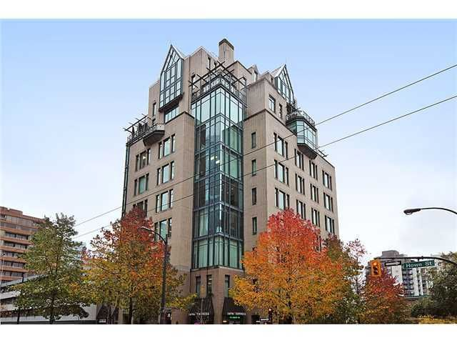 Main Photo: # 10B 789 HELMCKEN ST in Vancouver: Downtown VW Condo for sale (Vancouver West)  : MLS®# V1050797