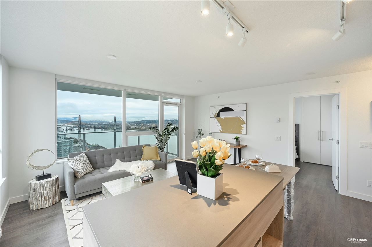 """Main Photo: 2911 908 QUAYSIDE Drive in New Westminster: Quay Condo for sale in """"RIVERSKY 1"""" : MLS®# R2535436"""