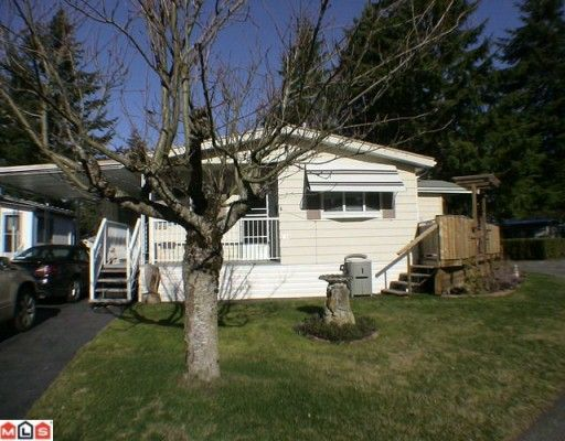 """Main Photo: 144 3665 244TH Street in Langley: Otter District Manufactured Home for sale in """"LANGLEY GROVE ESTATES"""" : MLS®# F1003945"""