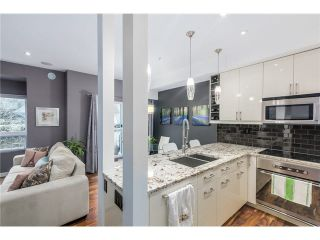 Photo 8: 212 3709 PENDER Street in Burnaby: Willingdon Heights Townhouse for sale (Burnaby North)  : MLS®# V1104019