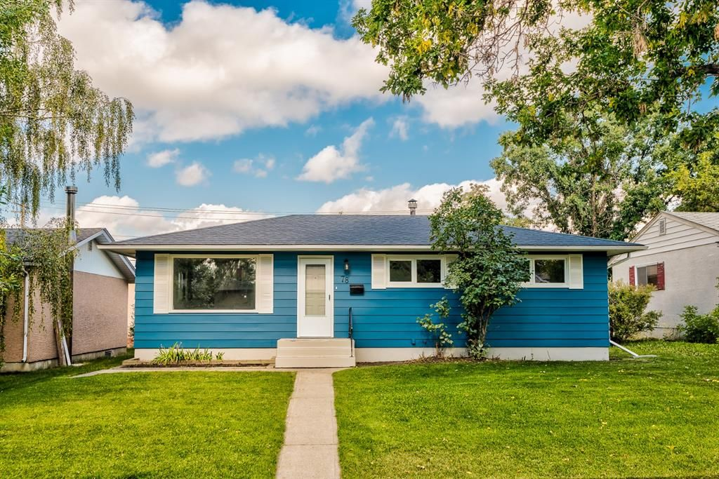 Main Photo: 78 Franklin Drive in Calgary: Fairview Detached for sale : MLS®# A1142495