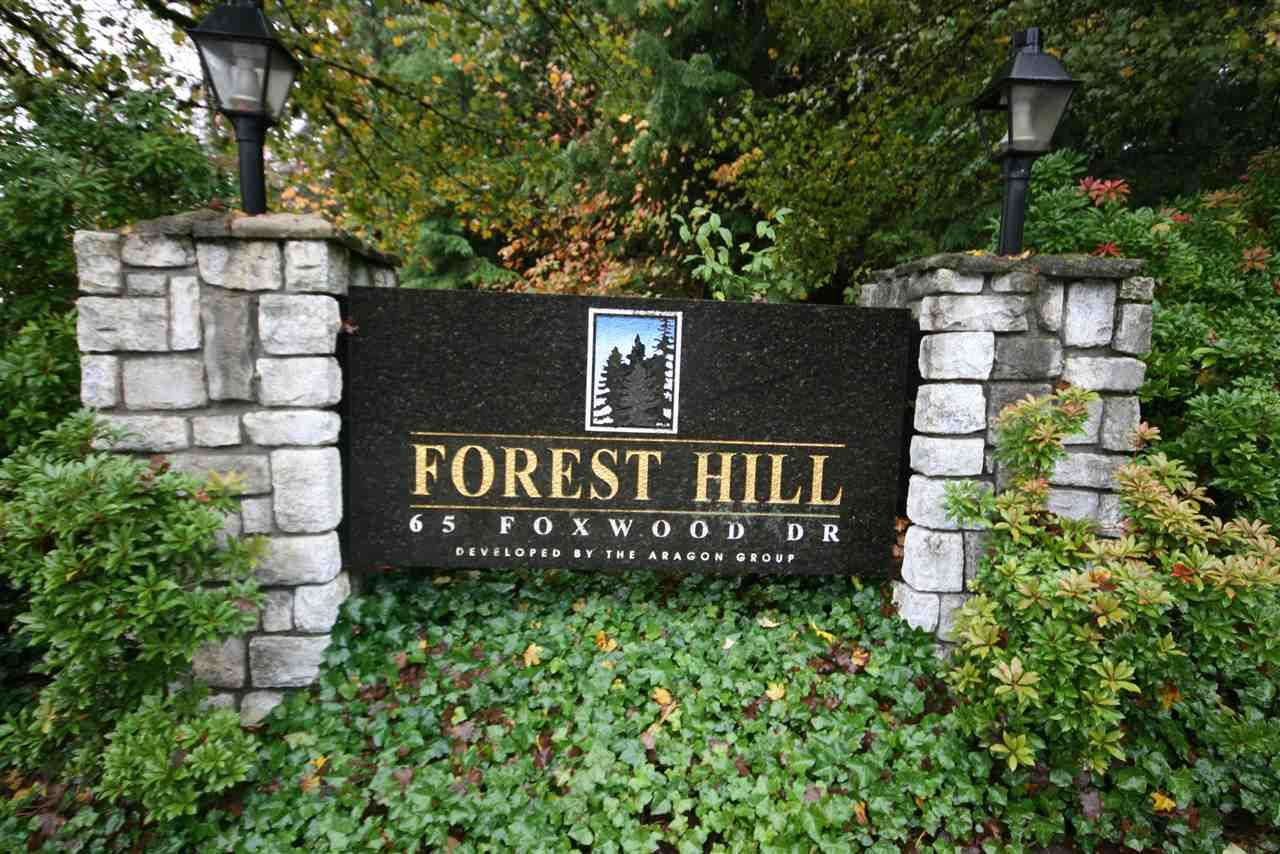 """Main Photo: 11 65 FOXWOOD Drive in Port Moody: Heritage Mountain Condo for sale in """"FOREST HILL"""" : MLS®# R2028375"""