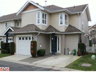 """Photo 1: 23 6513 200TH Street in Langley: Willoughby Heights Townhouse for sale in """"LOGIN CREEK"""" : MLS®# F1129284"""