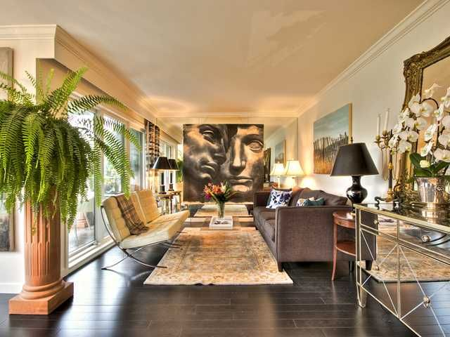 Photo 4: Photos: # 3A 735 BIDWELL ST in Vancouver: West End VW Condo for sale (Vancouver West)  : MLS®# V1025083